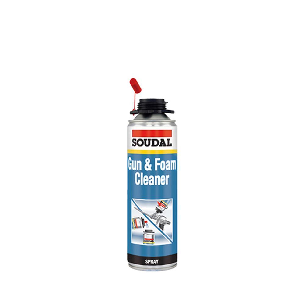 Soudal Gun & Foam Cleaner, PU Köpük Temizleyici 500 ML