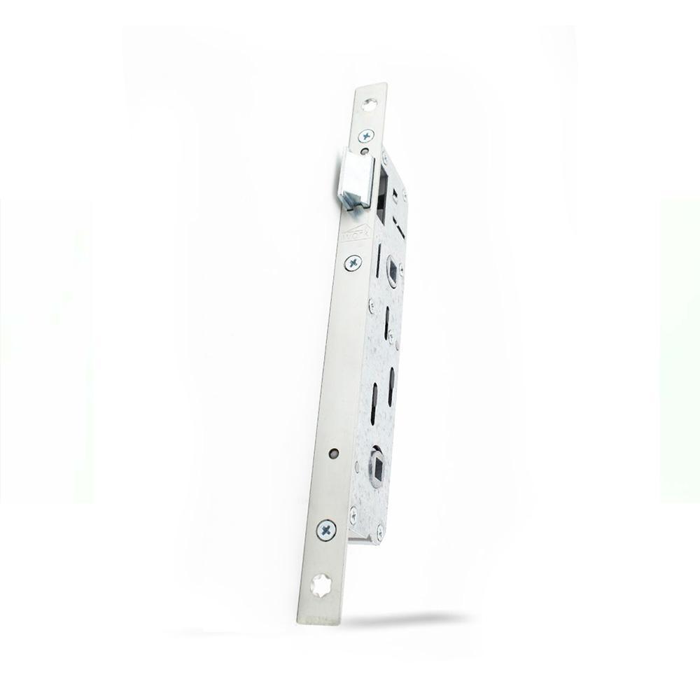 28 - 90 mm Eksen PVC Banyo ve WC Kilidi Tek Dilli ( E Serisi )